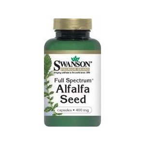SWANSON FULL SPECTRUM ALFALFA 400MG 60KAP.