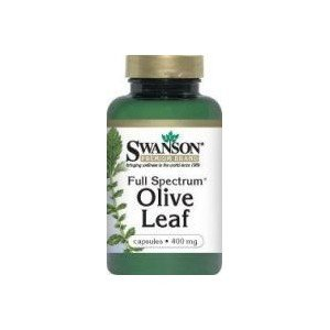 SWANSON FULL SPECTRUM OLIVE LEAF 400MG 60K