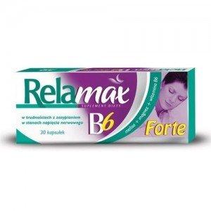 Relamax B6 Forte kaps. 30 kaps.