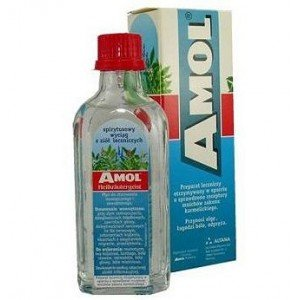 Amol płyn doustny, płyn na skórę 150 ml