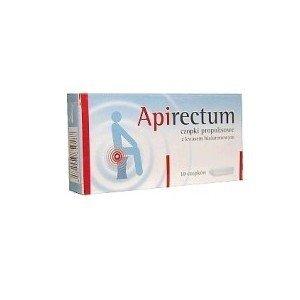 Apirectum Czopki z kw.hialuron.propolisem