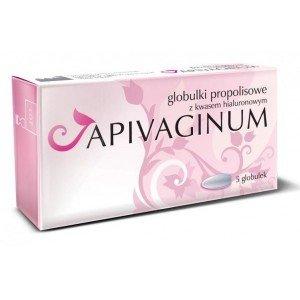 Apivaginum Globulki z kw.hialur.i propolis