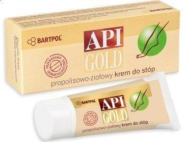Krem do stóp Propolisowo-zioł 30g Api-Gold