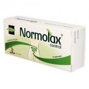 Normolax Control kaps.twarde 0,015g(glukof