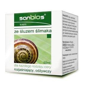 Krem ze śluzem ślimaka 50 ml SANBIOS