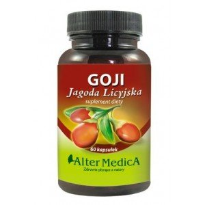 Goji Jagoda Licyjska kaps. 60 kaps.