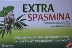Extraspasmina kaps.twarde 10kaps.(blister.