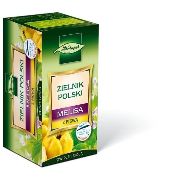 Fix herbat. Z.POLSKI MELISA Z PIGWĄ 20X1,7