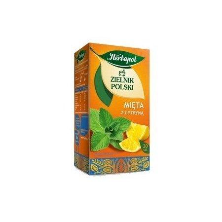Fix herbat. Z.POLSKI MIĘTA CYTRYNA 20X1,5