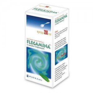 Flegamina Miętowa syr. 4mg/5ml 200ml