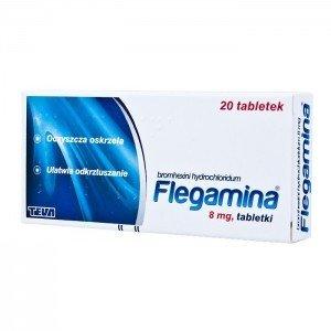 Flegamina tabl 8 mg a 20 tabl