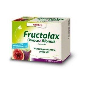 Fructolax kostki 24 szt.