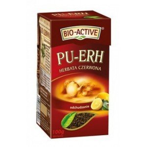 Herbata PU-ERH CYTRYNA 100G BIO-A