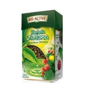 Herbata ZIELONA Z OPUNCJA 100G BIO-A