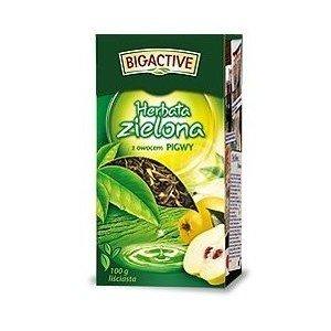 Herbata ZIELONA Z PIGWĄ 100G BIO-A