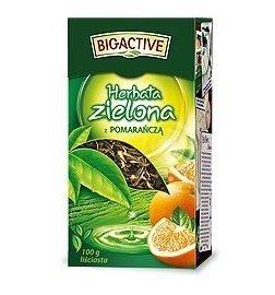 Herbata ZIELONA Z POMARAŃCZĄ 100G BIO-A