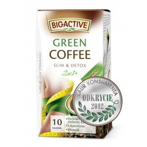 KAWA 2w1 GREEN COFFEE BIO-A 10X12G