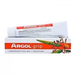 ARGOL GRIP Maść aromat.z eukalipt. 40g