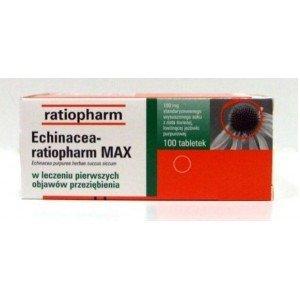ECHINACEA-RATIOPHARM MAX 100MG 100TAB