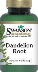 SWANSON DANDELION 515MG 60 KAP