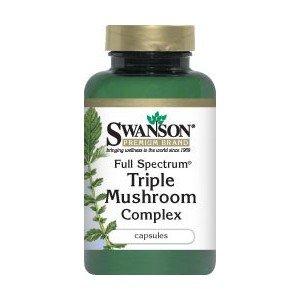 SWANSON Full Spectrum Triple Mushroom 60KAP.