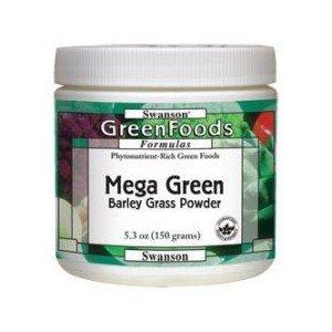 SWANSON MEGA GREEN BARLEY GRASS POWDER 150