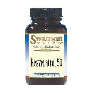 SWANSON RESWERATROL 50MG 30KAP.