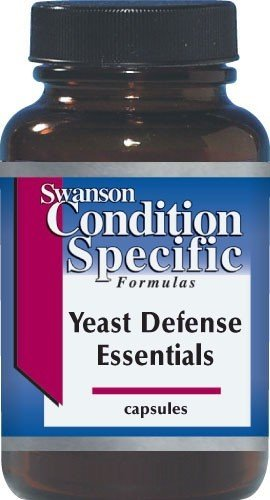 SWANSON YEAST DEFENSE ESSENTIALS 120 KAP.