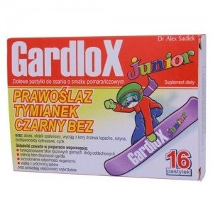 Gardlox Junior past.do ssania a 16