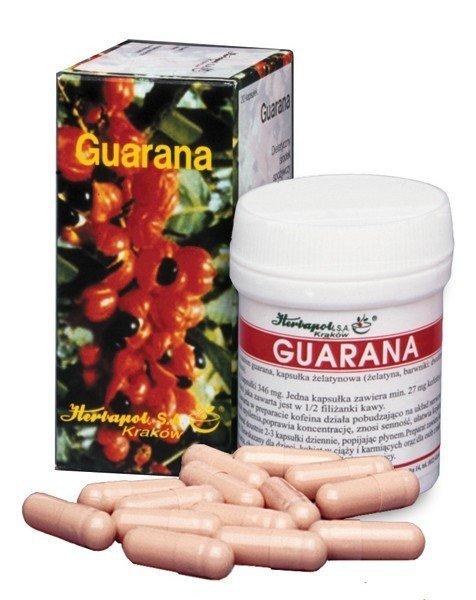 Guarana kaps 27mg 20 kaps