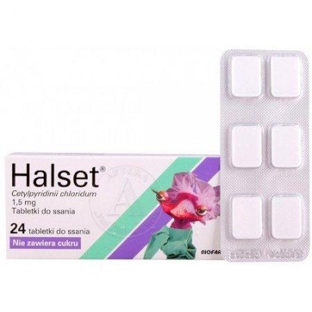 Halset tabletki do ssania 1,5mg 24tabl. 4blistry