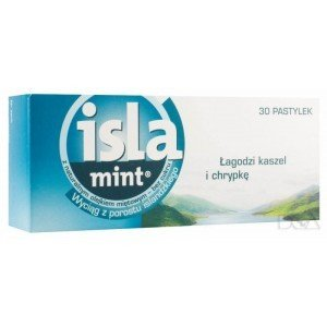 Isla -Mint pastylki 0,1 g 30 pastyl.