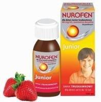 Nurofen dla dzieci smak truskawkowy zawiesina doustna 0,