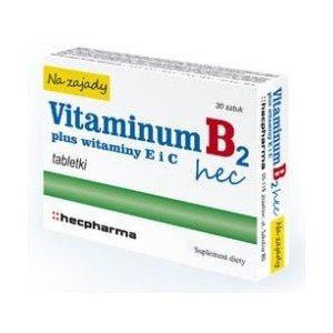 Vitaminum B2 Hec na zajady tabl. 30tabl.