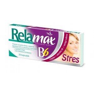 Relamax B6 Stres kaps. 20 kaps.