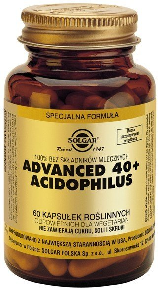 Advanced 40+ Acidophilus SOLGAR
