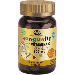 Kanguwity Witamina C 100 mg do ssania SOLGAR