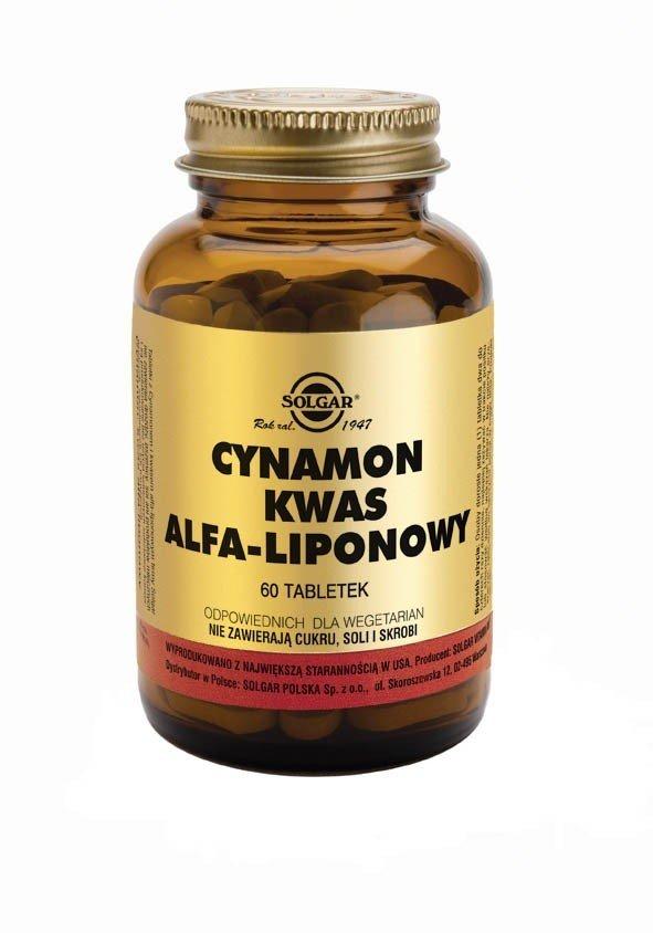 CYNAMON KWAS ALFA-LIOPONOWY SOLGAR