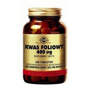 Kwas foliowy 400 µg