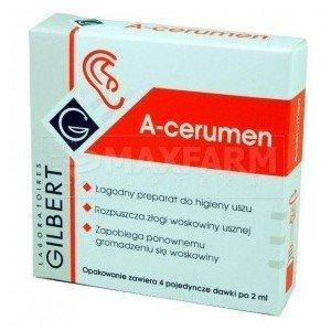 A-CERUMEN prep.do oczyszcz.i hig.uszu płyn