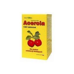Acerola x 100 tabl SANBIOS