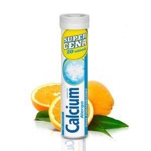 Calcium 300 alergo tabl.mus. 20tabl.