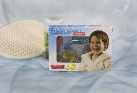 Olejek do kąpieli dla dzieci