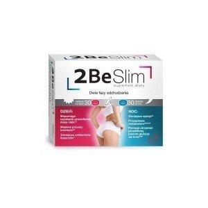 2 Be Slim dwie fazy odchudzania 60 tabletek