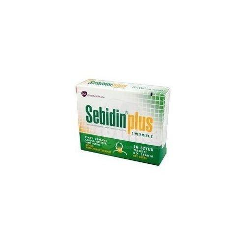 Sebidin Plus tabletki do ssania 16 tabletek