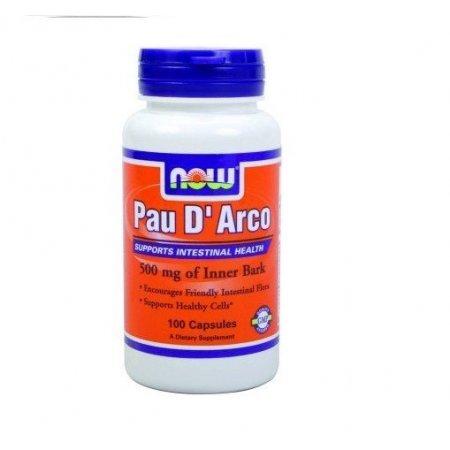PAU D`ARCO NOW FOODS 100 kaps
