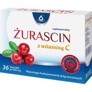 Żurascin z witaminą C, 36 kapsułek