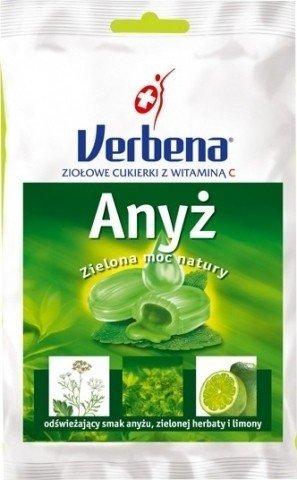 Cukierki Verbena Anyż z wit.C 60g