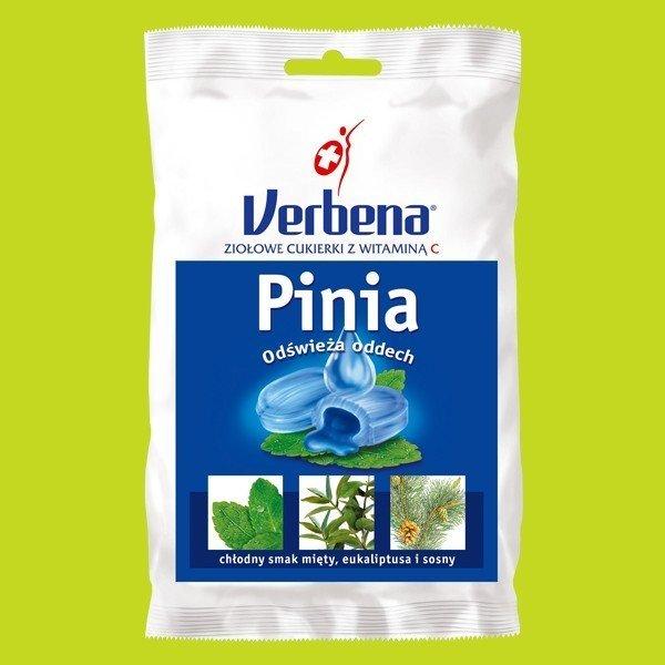 Cukierki Verbena Pinia z vit C