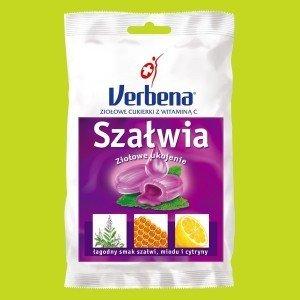 Cukierki Verbena Szałwia z vit C